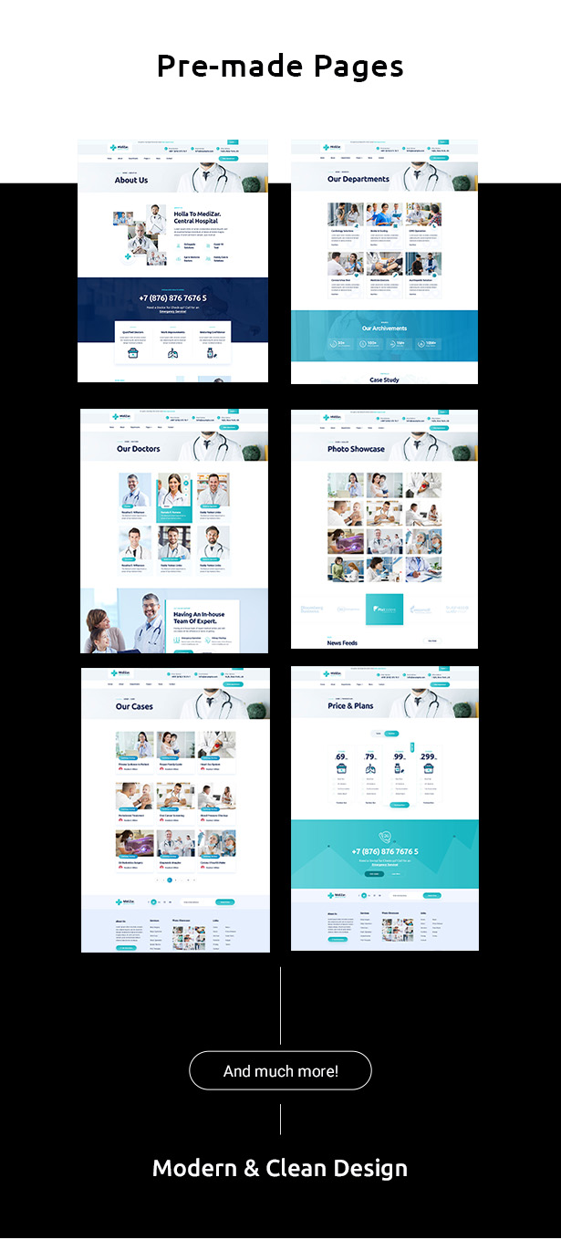 Medixer – Health & Clinic WordPress Theme - 2