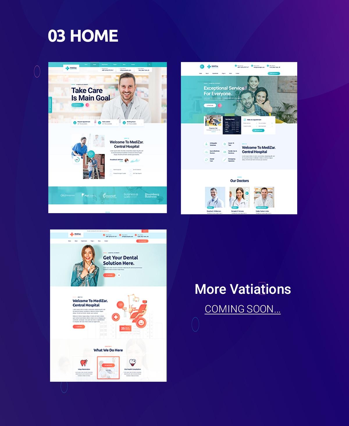 Medixer – Health & Clinic WordPress Theme - 2
